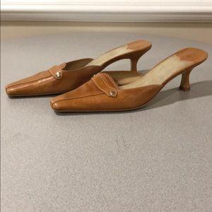 Nine West mule shoes